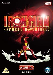 Iron Man - Armoured Adventures Complete Volumes 1 To 2 Dvd [Edizione: Regno Unito] [Reino Unido]