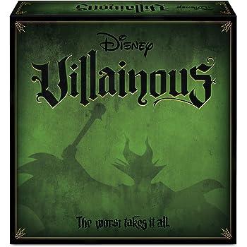 Ravensburger 26275 Disney Villainous, Gioco da Tavolo, per 2-6 Giocatori, Età Consigliata 10+ (Versione in Italiano)