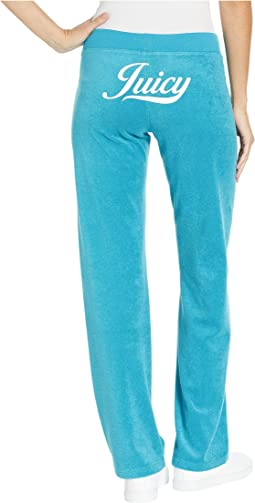 Juicy Script Microterry Mar Vista Pants