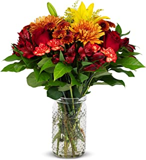 Benchmark Bouquets Harvest Delight, With Vase (Fresh Cut Flowers)