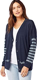 Women's Medallion Cardigan Sweater
