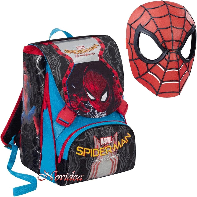 Schulrucksack Spider Man Homecoming ausziehbar mit Inclusa Maske B07F2LQ794    Meistverkaufte weltweit 9bf56c