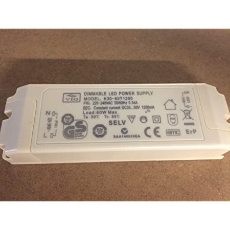 Led Driver Vig Dimmbar 60w 1200ma 30 50v K30 60t1200 Power Supply Dimmable Beleuchtung