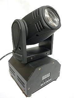 LED ムービングライト 12W×4 50W RGBW (赤緑青白) 4IN1 11/13チャンネル 360度 稼動ヘッド オート・サウンドアクティブ 舞台照明 DMX512対応 LED MOVING LIGHIT スポットライト