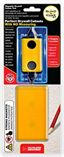 Calculated Industries 8106 Blind Mark Drywall Electrical Box Locator Tool - 2-Target Kit for Smaller Sheetrock Jobs