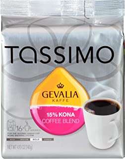 Tassimo Gevalia Kona Coffee Blend T Discs (16 Count)