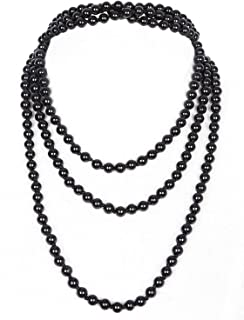 Best black and gold beaded necklace Reviews
