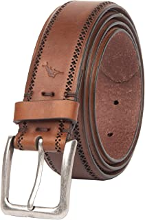 Tommy Bahama Men's Detailed Edge Dress Belt