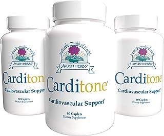 Ayush Herbs Carditone Supplement, 60 Capsules (Pack of 3)