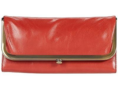 Hobo Rachel (Brick Vintage Hide) Clutch Handbags