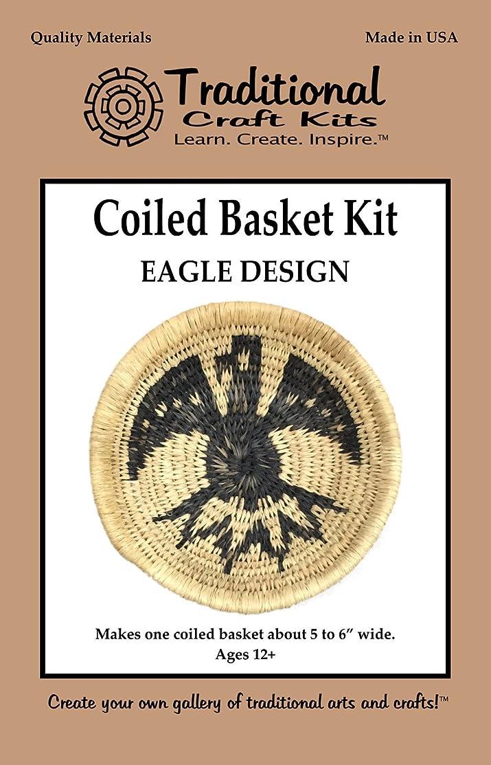 Coiled Basket Kit - Eagle Design