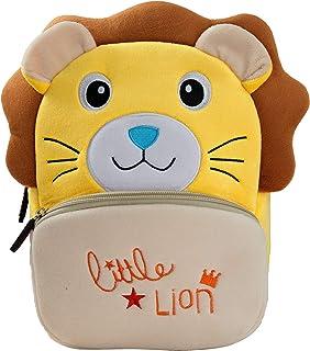 BAIGIO Mochila Infantil Kindergarten,Pequeñas Mochilas Bolsas Escolares de Dibujos Animados Animales para Niñas Primaria 3...