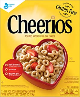 Cheerios Gluten-free Cereal (20.35 oz., 2 pk.) (pack of 6)