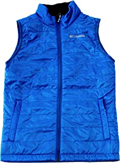 Crested Butte Youth Boys Omni Heat Full Zip Lightweight Vest