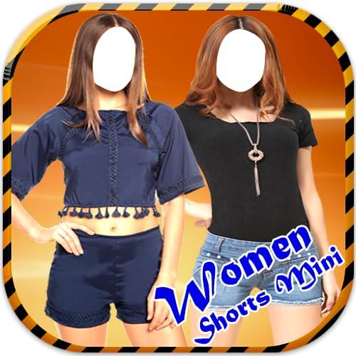 Women Shorts Mini Suit