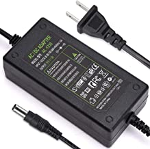 DC 12V 3A Power Adapter, 36 Watt AC 100-240V to DC 12Volt Transformers, Switching Power Supply for LED Strip Light, Camera, Wireless Router 2.1mm X 5.5mm US Plug