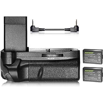 Neewer–Agarre Vertical de batería y 2-Pack 1020mAh LP-E10Li-Ion batería de Repuesto Kit para Canon EOS 1100d/1200d/1300d/Rebel T3/T5/T6