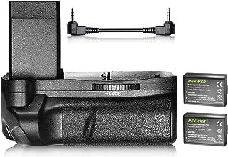 Neewer Agarre Vertical de batería y 21020mAh LP-E10Batería de Ion de Litio de Repuesto Kit para Canon EOS 1100d/1200d/1300d/Rebel T3/T5/T6