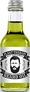 Beard Oil, All Natural Beard Oil Made with 100% Pure Essential Oils, Creates a Softer, Healthier Beard (Smokey Lumberjack) by Plant Therapy Essential Oils