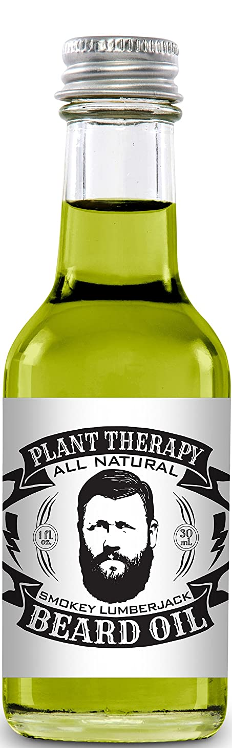 消える放課後本体Beard Oil, All Natural Beard Oil Made with 100% Pure Essential Oils, Creates a Softer, Healthier Beard (Smokey Lumberjack) by Plant Therapy Essential Oils