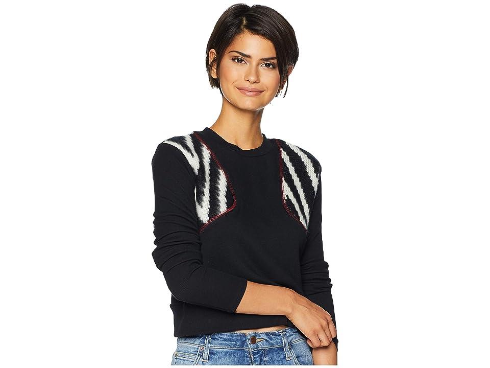 LAmade Joaquin Sweater (Black/White Chevron) Women