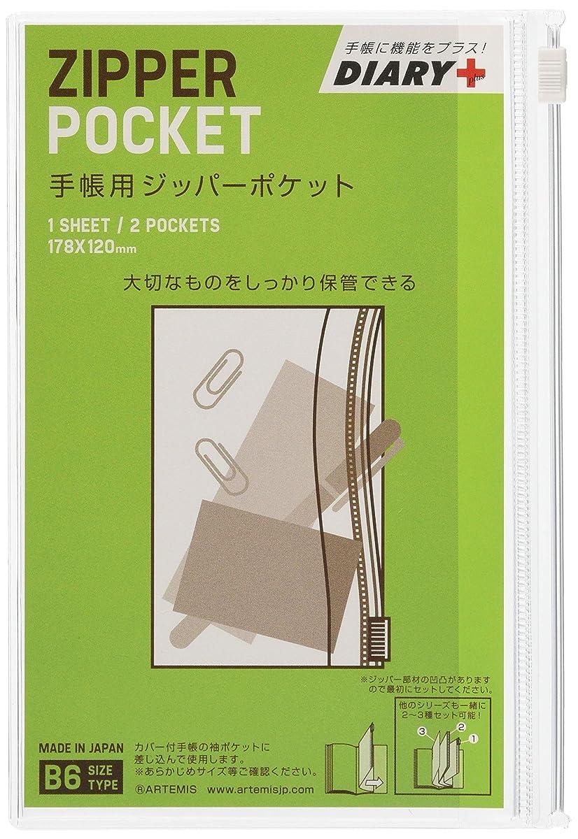 言うまでもなく意味するボイドアーティミス 手帳小物 ジッパーポケット TK-JPP