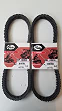Polaris Pro RMK 800 Belt Axys Assault SKS 155 163 2016-2018 Gates CVT Carbon Belt 45C4553 2-Pack