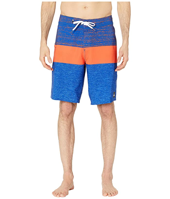 Quiksilver 20 Everyday Blocked Vee 2.0 Boardshorts Swim Trunks (Electric Royal) Men