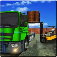 Delivery Truck Simulator 2017: Extreme Fork lifting