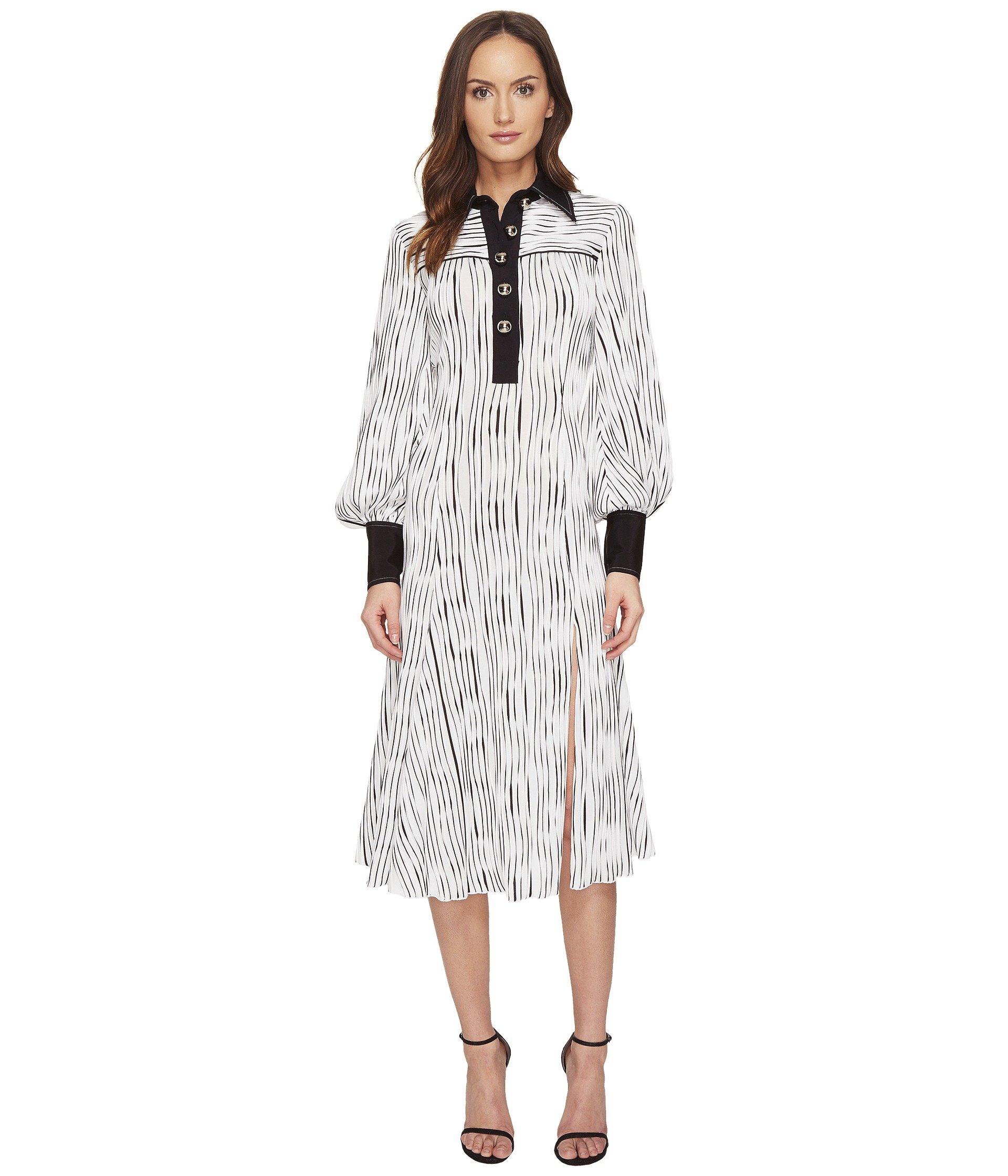 Long Sleeve Polo Dress