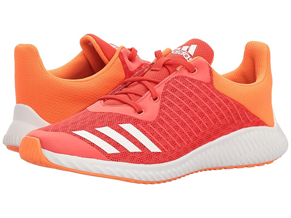 adidas Kids FortaRun (Little Kid/Big Kid) (Hi-Res Red/White/Hi-Res Orange) Girls Shoes