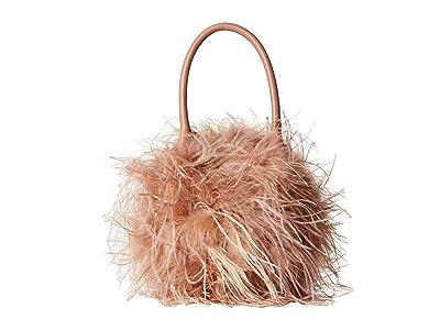Loeffler Randall Zadie Feather Circle Tote (Buff Pink/Buff Pink) Tote Handbags