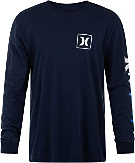Everyday Washed One and Only Icon Gradient Long Sleeve T-Shirt, Obsidian, Large