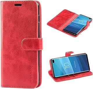 Mulbess Cover per Samsung Galaxy S10 Plus, Custodia Pelle con Magnetica per Samsung Galaxy S10 Plus / s10+ [Vinatge Case],...