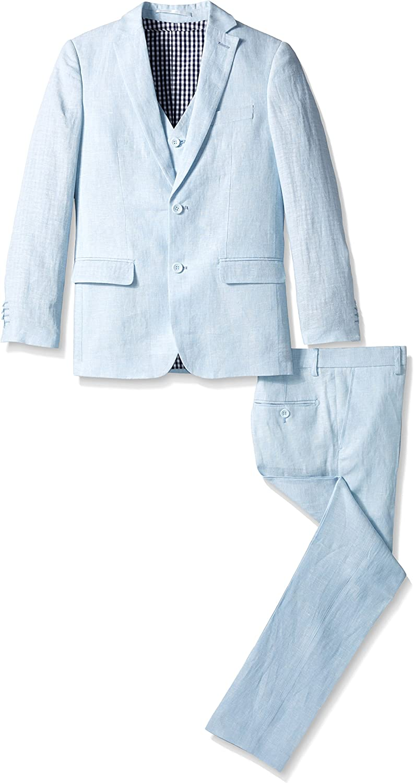 Isaac Max 57% OFF Mizrahi Cash special price Boys' Linen Suit 3pc