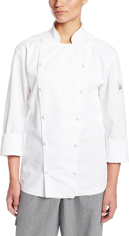 Chef Revival LJ0252X White Ladies Cuisinier Chef Jacket  Cheftex Size 20 (2X)