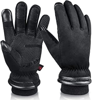 OZERO Waterproof Winter Gloves Men Women -30 ℉ Cold Proof...