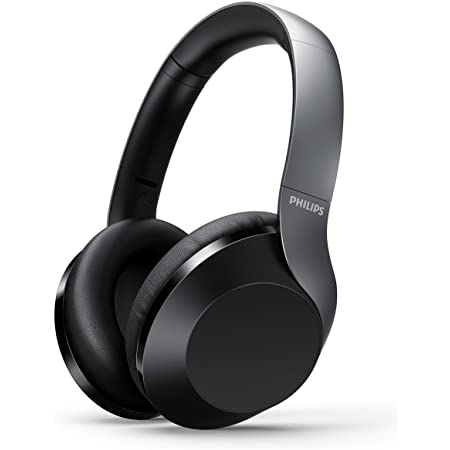 Philips Audio Performance TAPH805BK Wireless Bluetooth Over The Ear Headphone with Mic (Black)
