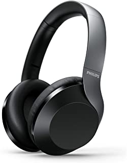 Philips PH805 Active Noise Canceling (ANC) Over Ear Wireless Bluetooth Performance Headphones w/Hi-Res Audio, Comfort Fit ...