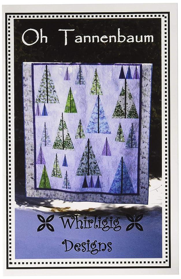 Whirligig Designs WD-OTB Oh Tannenbaum Pattern, None