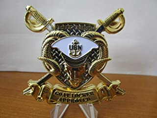Navy Coin USN Navy Chief Goat Locker Approved Deckplate Certified CPO Challenge Coin