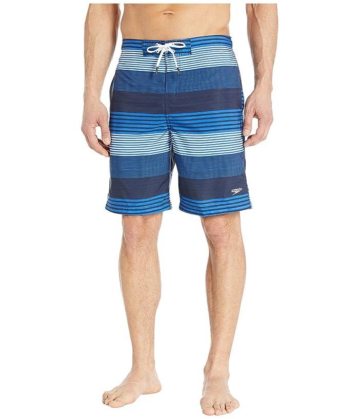 Speedo  Borderline Boardshorts 20 (Blue Lemonade) Mens Swimwear
