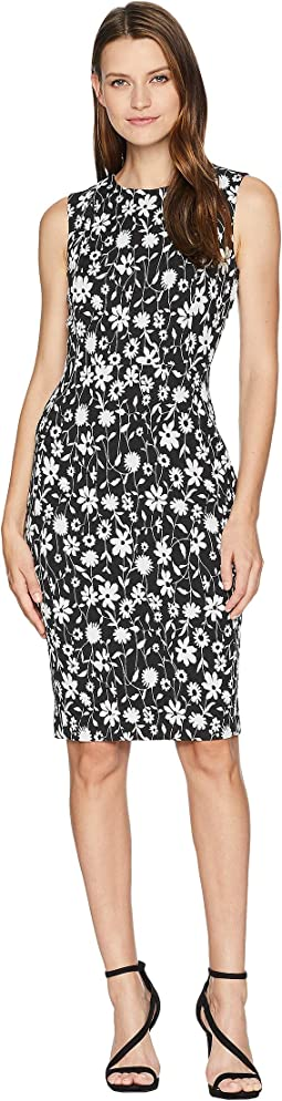 Floral Print Sheath Dress CD8CPA00