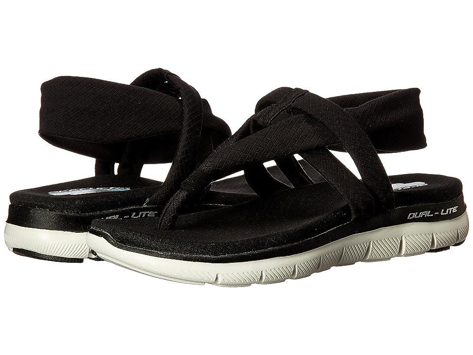 SKECHERS Flex Appeal 2.0 - Studio Time (Black) Women's Shoes