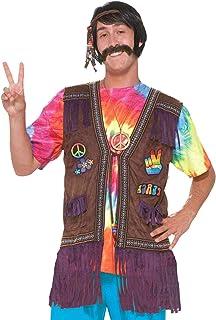 Forum Novelties Men's Generation Hippie Peace Vest