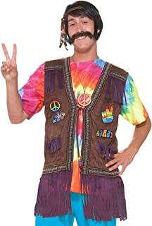 Men's Generation Hippie Peace Vest