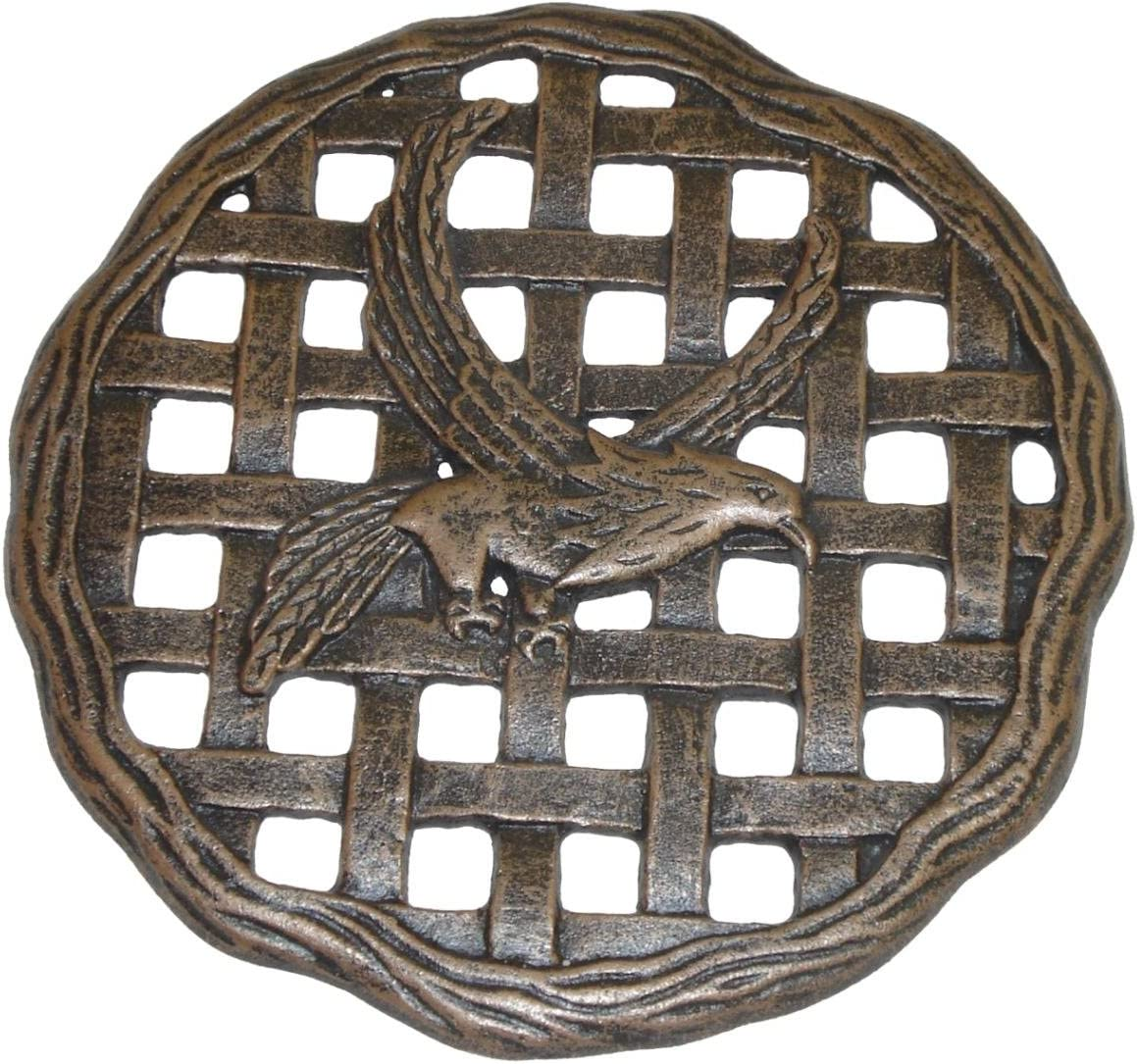Oakland Living Stepping Stone Eagle Antique 1 year Mail order warranty Bronze