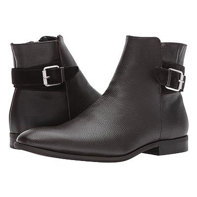 Calvin Klein Lorenzo (Dark Brown Tumbled Leather) Men