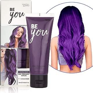 pink blue purple hair dye