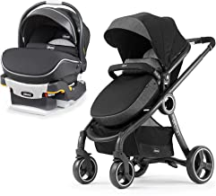 Chicco KeyFit 30 Zip Air Rear Facing Infant Car Seat and 6 in 1 Stroller, Atmos